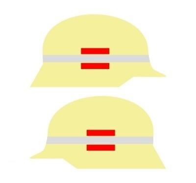 Klebestreifen für Zugführer (1000 mm)