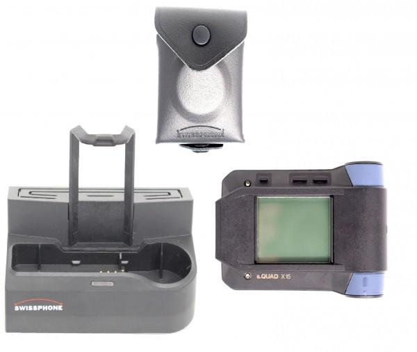 Swissphone s.QUAD X15 Set inkl. Schutztragetasche