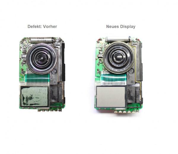 Displaytausch für Swissphone Quattro-Modelle