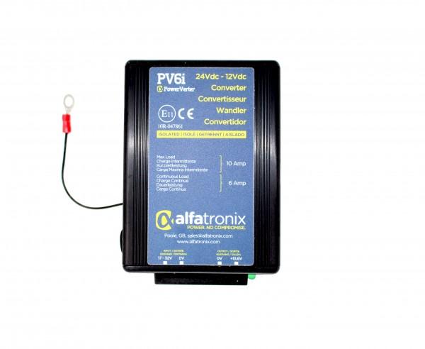 Alfatronix PV6I Spannungsumwandler 24V auf 12V