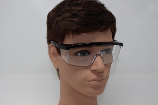 Augenschutzbrille mit transparentem Seitenschutz