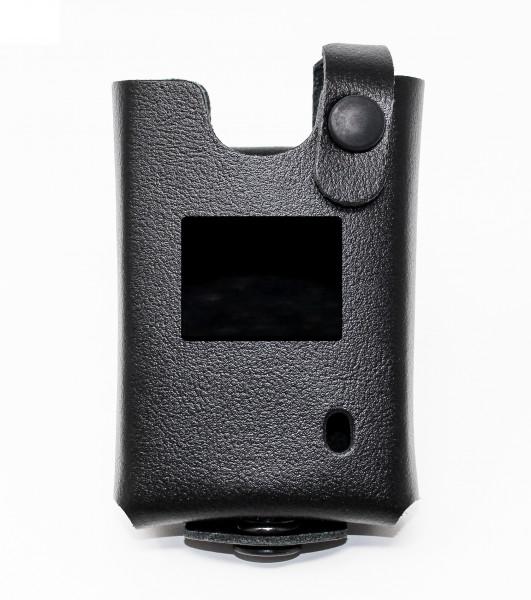 Lederschutztragetasche ( Displayausschnitt) geschloßen für Motorola TPG 2200