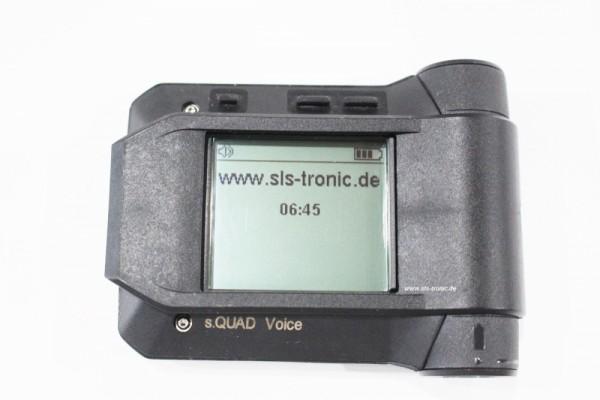 Swissphone s.QUAD VoiceAnalog Set mit Schutztragetasche