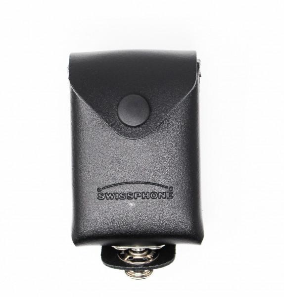 Swissphone BOSS Ledertragtasche mit Tenaxverschluss