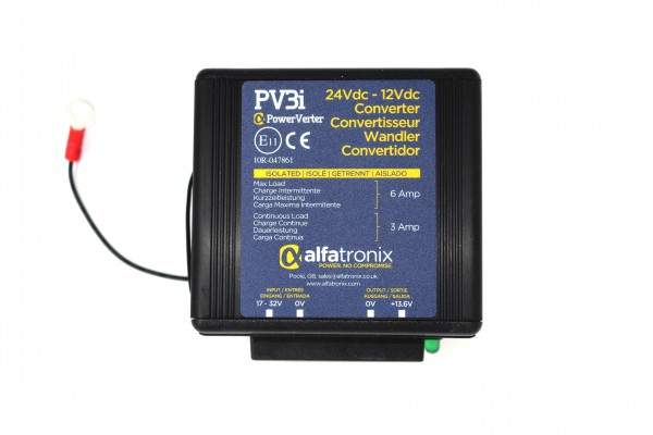 Alfatronix PV3I Spannungsumwandler 24V auf 12V