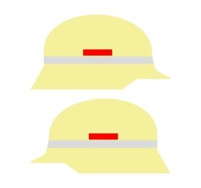 Klebestreifen für Gruppenführer (1000 mm)