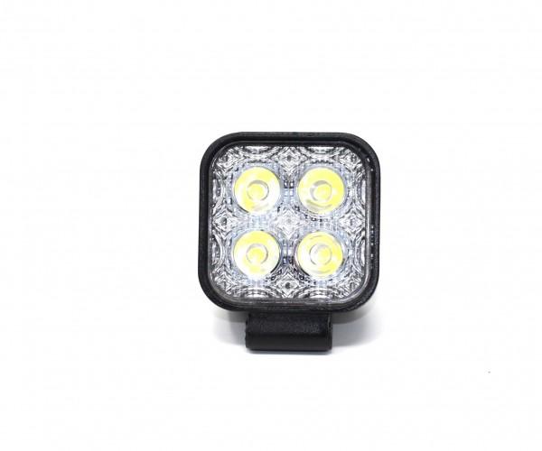 4 LED 12 W Arbeitsscheinwerfer (2x)
